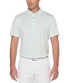 Men's Big & Tall Textured Golf Polo
