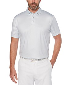 Men's Gingham Golf Polo