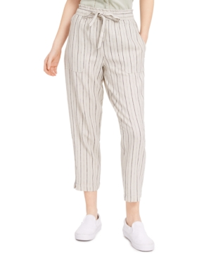 Indigo Rein Juniors' Striped Pull-On Pants