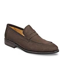 Men's Moc Toe Penny Strap Slip-On