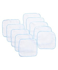 Baby Boys and Girls 10-Pack of Terry Washcloths