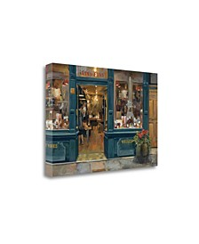 Parisian Wine Shop by Marilyn Hageman Giclee Print on Gallery Wrap Canvas