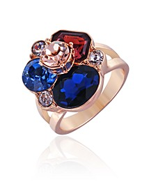 Mixed Gems Cocktail Ring