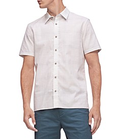 Men's Short Sleeve Stretch Cotton Shirt