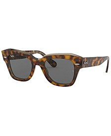 STATE STREET Sunglasses, RB2186 49