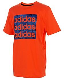 Big Boys Core Camo Logo T-Shirt