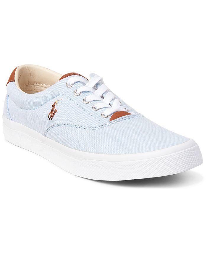 Polo Ralph Lauren - Men's Thorton Cotton Oxford Sneakers