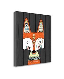 Tribal Fox by Tamara Robinson Giclee Print on Gallery Wrap Canvas