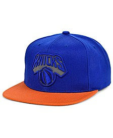New York Knicks 2 Team Reflective Snapback Cap