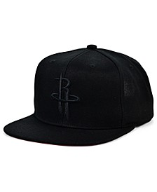 Houston Rockets Under The Black Snapback Cap