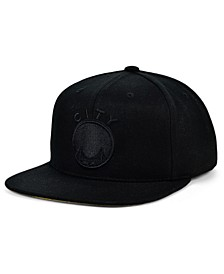 San Francisco Warriors Under The Black Snapback Cap