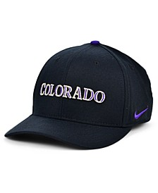 Colorado Rockies Legacy 91 Dri-FIT Swooshflex Stretch Fitted Cap