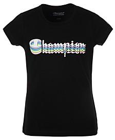 Big Girls Shadow Logo Script T-Shirt