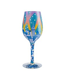 LOLITA New York Nights Wine Glass