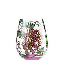 Enesco LOLITA It's Wine O'Clock Stemless Wine Glass