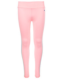 Champion Big Girls Colorblocked Taped Leggings
