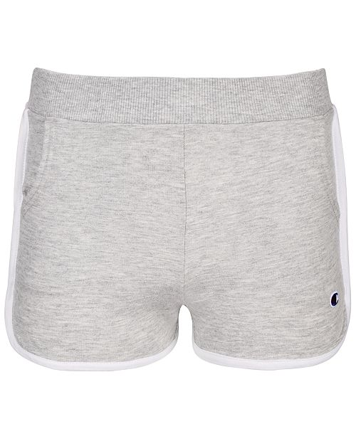 Champion Little Girls Colorblock French Terry Shorts