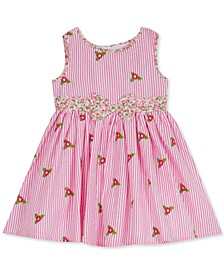 Baby Girls Flower Seersucker Sundress