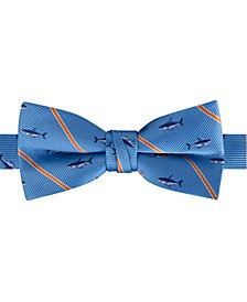 Big Boys Pre-Tied Shark Stripe Bow Tie