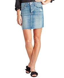 The Jenny Denim Mini Skirt