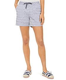 Cotton Printed Pull-On Shorts