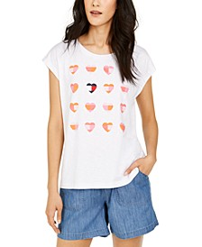 Heart-Print Top