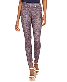 Boutique Blooms Pull-On Leggings, Regular & Petite Sizes