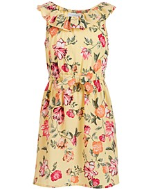 Little Girls Mommy & Me Floral-Print Dress, Created for Macy's