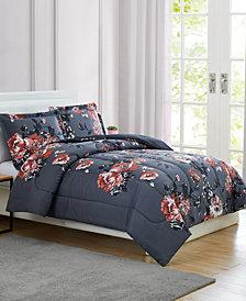 Pem America Manilla Floral 3-Pc. Comforter Set