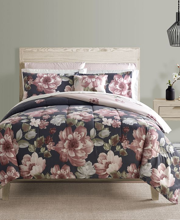 Sunham Lynwood 12-Pc. Queen Comforter Set