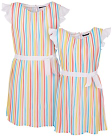 Little & Big Girls Striped Dress Separates