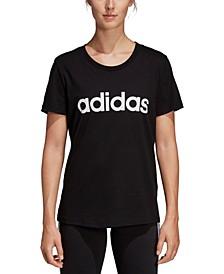 Women's Cotton Slim Logo T-Shirt