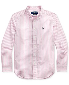 Big Boys Cotton Poplin Shirt