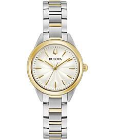 Women's Sutton Two-Tone Stainless Steel Bracelet Watch 28mm