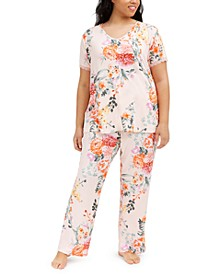 Plus Size Tish PJ Set