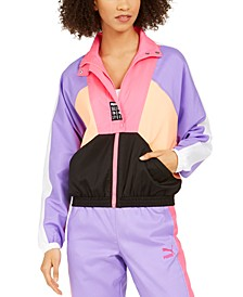 Women's Retro Colorblocked Track Jacket