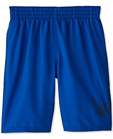 Big Boys Water Repellant Swim Trunks
