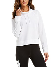 Funnel-Neck Sweatshirt