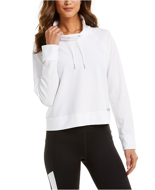 Calvin Klein Funnel-Neck Sweatshirt