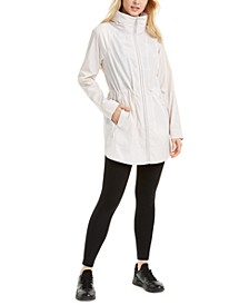 Long-Line Rain Jacket, Created for Macy's