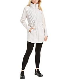 Long-Line Rain Jacket, Created for Macy's