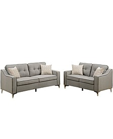 Venetian Worldwide Campania 2-Piece Sofa Set