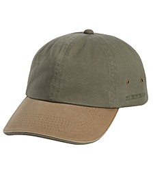 Men's 2-Tone Washed Twill Cap