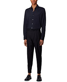 BOSS Men's T-Landon Dark Blue Shirt