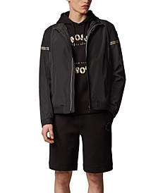BOSS Men's J_Siak Black Jacket