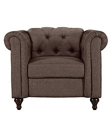 US Pride Furniture Jemima Chesterfield Chair