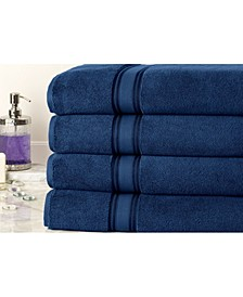 Zero Twist Oversized Bath Sheets Set - 4 Piece