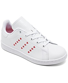 Little Girls Originals Stan Smith Casual Sneakers from Finish Line