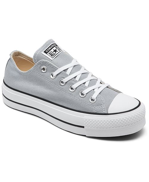chuck taylor all star lift canvas low top converse
