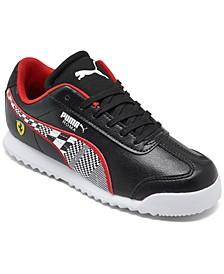 Little Boys Scuderia Ferrari Roma Casual Sneakers from Finish Line